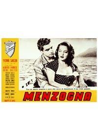 La copertina di Menzogna (dvd)