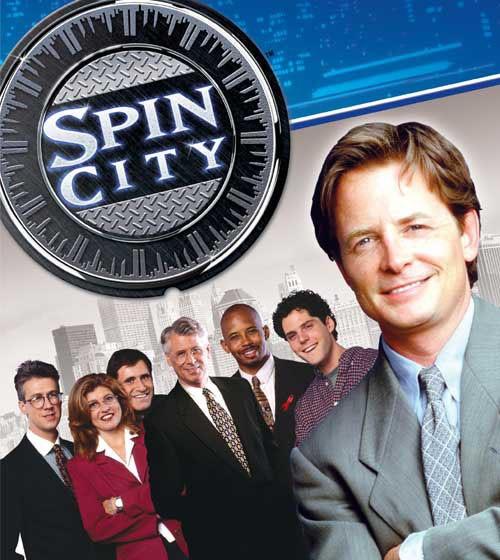 locandina di Spin City