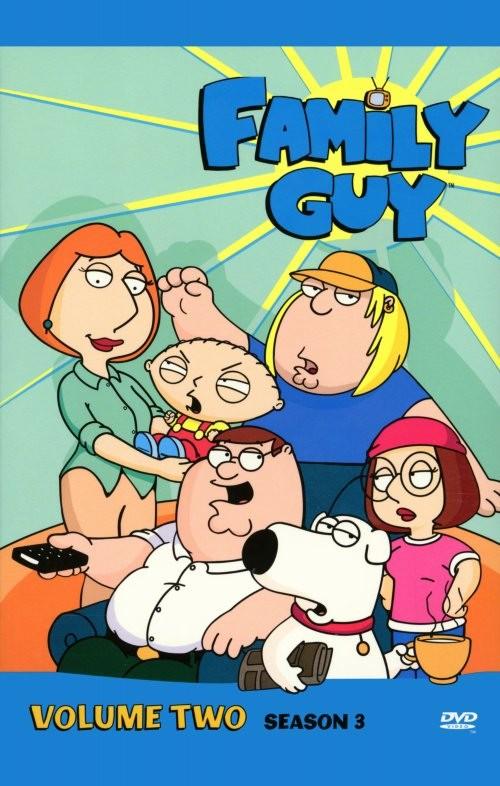 Poster della stagione 3 della serie tv I Griffin