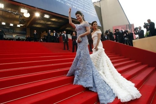 Cannes 2010: Aishwarya Rai con Eva Longoria