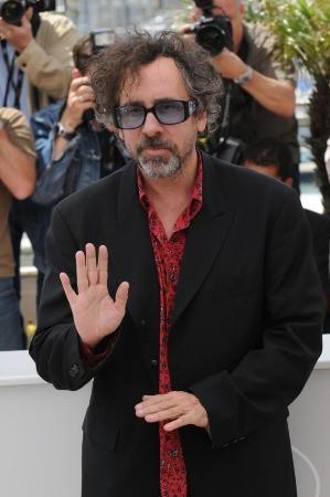 Cannes 2010, il Presidente della Giuria Tim Burton