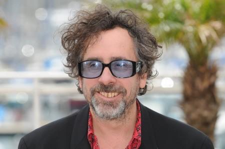 Cannes 2010, il Presidente della Giuria, un sorridente Tim Burton