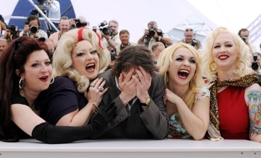 Cannes 2010: Mathieu Amalric presenta Tournee assieme a Kitten on the Keys, Dirty Martini, Julie Atlas Muz e Mimi Le Meaux