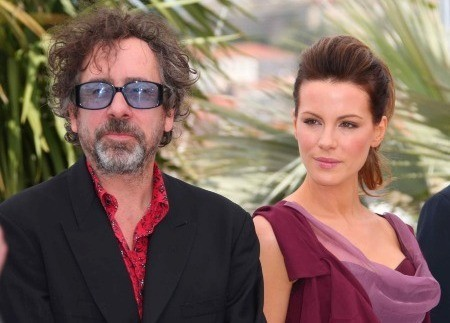 Cannes 2010, Tim Burton con Kate Beckinsale
