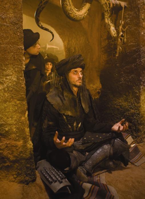 Claudio Pacifico in un'immagine de film Prince of Persia: Le sabbie del tempo