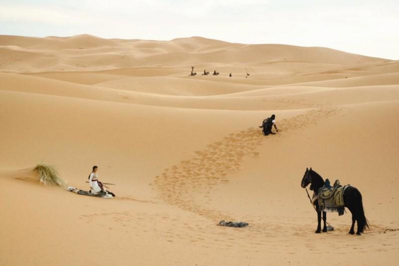 Jake Gyllehaal e Gemma Arterton affrontano il deserto nel film Prince of Persia: The Sands of Time con