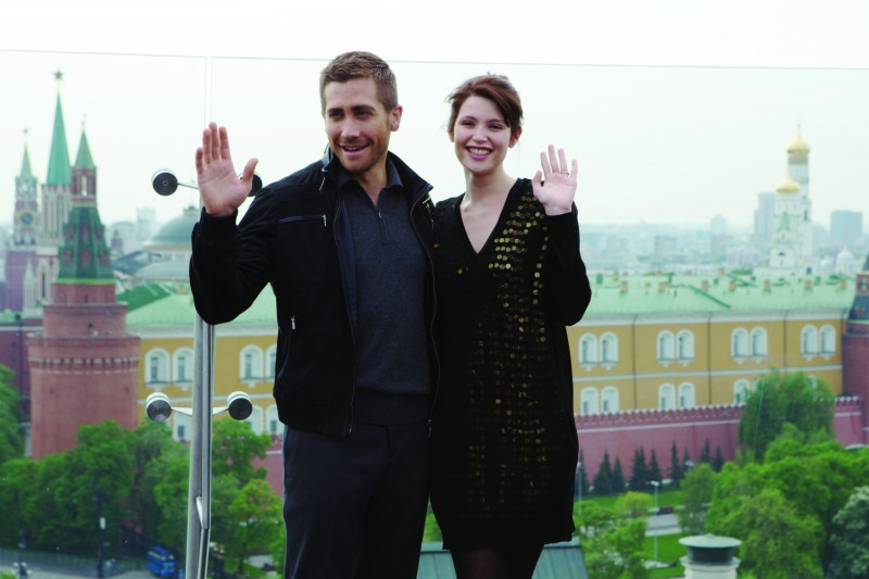 Jake Gyllenhaal e Gemma Arterton alla premiere di Mosca di Prince of Persia: Le Sabbie del Tempo