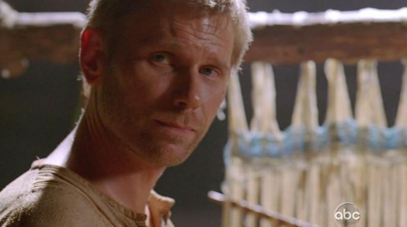 Mark Pellegrino in una scena di Attraverso il mare, dalla sesta stagione di Lost