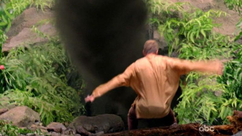 Mark Pellegrino in una scena di Attraverso il mare dalla sesta stagione di Lost