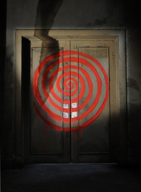 Un'immagine evocativa dell'horror Saw VI
