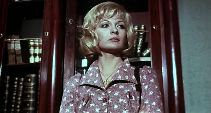 Anna Maria Rosati in una scena del film Reazione a catena (1971)