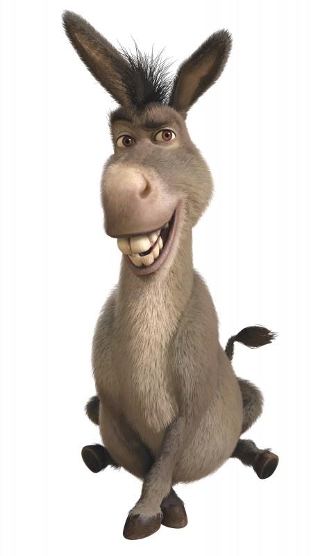 Dal film Shrek e vissero felici e contenti ecco Ciuchino