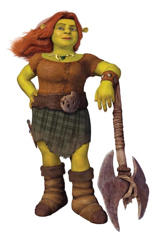 Fiona torna a lottare nel film Shrek e vissero felici e contenti