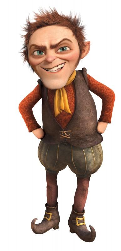 Il nano Tremontino, nuovo personaggio del film Shrek e vissero felici e contenti