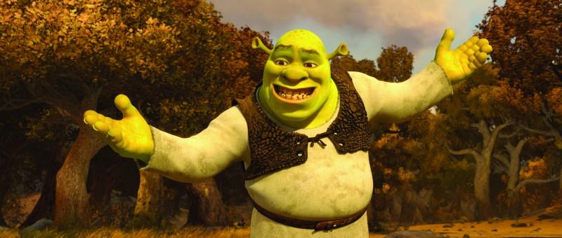 L'orco combinaguai protagonista di Shrek e vissero felici e contenti