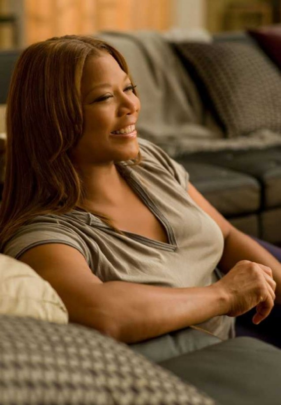 La solare Queen Latifah in una scena di Just Wright