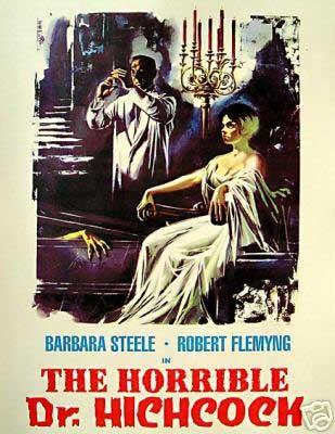 Locandina del film horror  L\'orribile segreto del dottor Hichcock