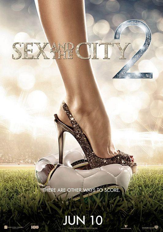 Locandina internazionale di Sex and the City 2