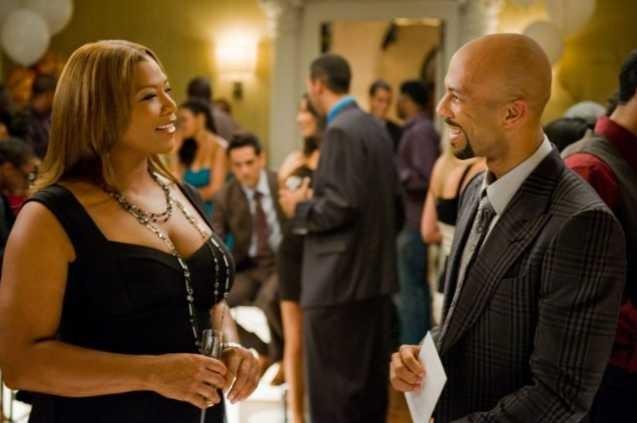 Queen Latifah e Common in un'immagine di Just Wright