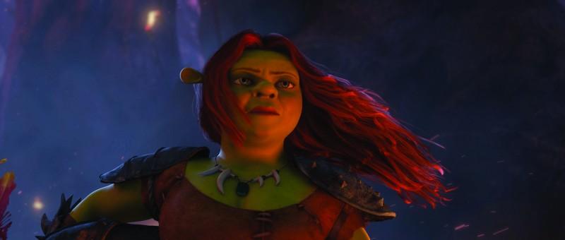 Un'immagine di Fiona dal film Shrek e vissero felici e contenti