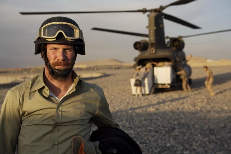 Un'immagine di Morgan Spurlock dal film Che fine ha fatto Osama Bin Laden?