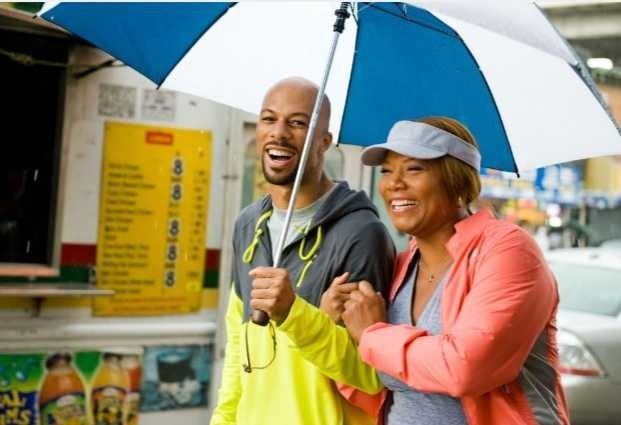 Un'immagine di Queen Latifah e Common dal film Just Wright