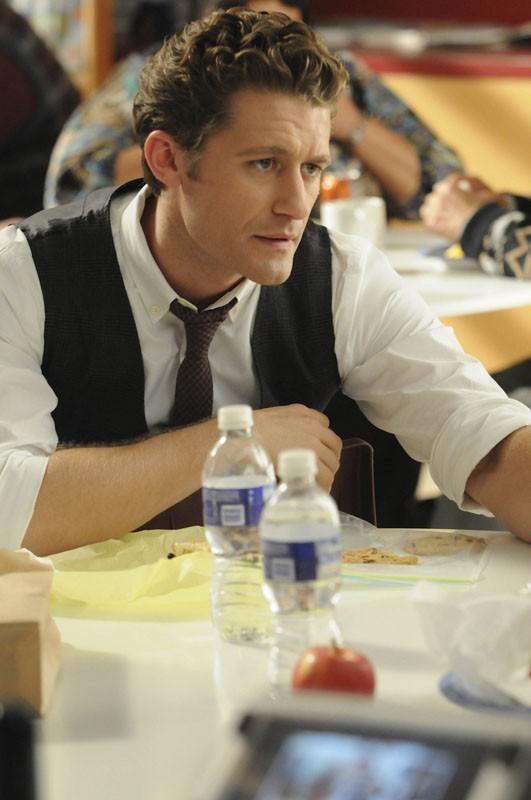 Will Schuester (Matthew Morrison) in una scena dell'episodio Bad Reputation di Glee