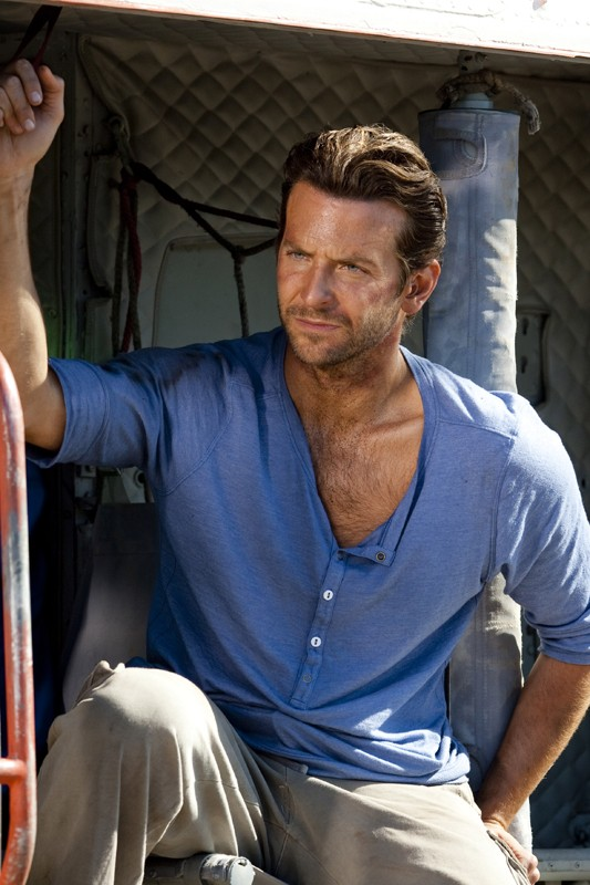 Bradley Cooper nel ruolo di 'Sberla' in una scena del film The A-Team
