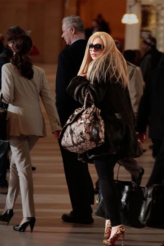 Il ritorno di Georgina Sparks (Michelle Trachtenberg) nell'episodio Last Tango, Then Paris di Gossip Girl