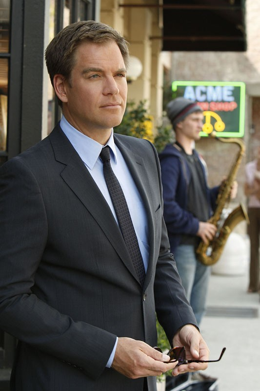 L'Agente DiNozzo (Michael Weatherly) in una sequenza dell'episodio Obsession di NCIS