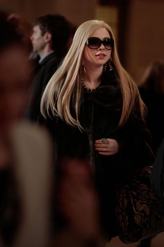 La bionda Georgina (Michelle Trachtenberg) nell'episodio Last Tango, Then Paris di Gossip Girl