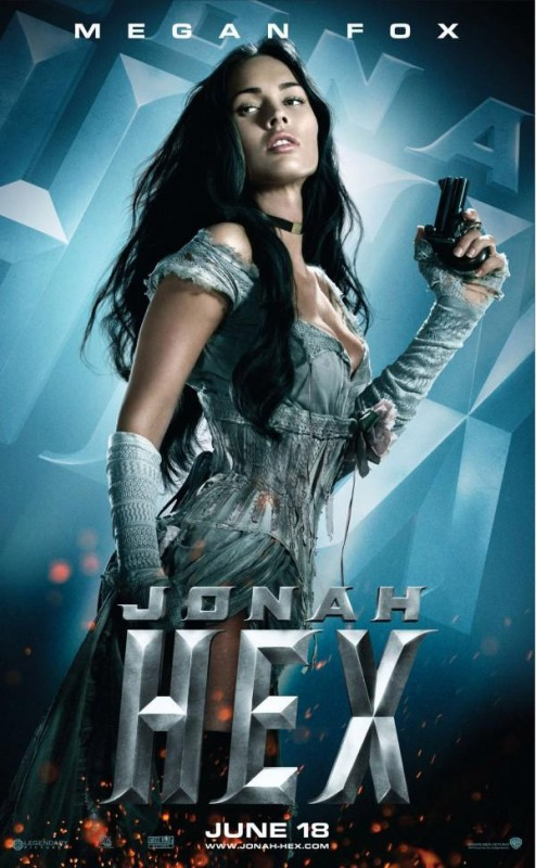 Manifesto di Megan Fox in Jonah Hex