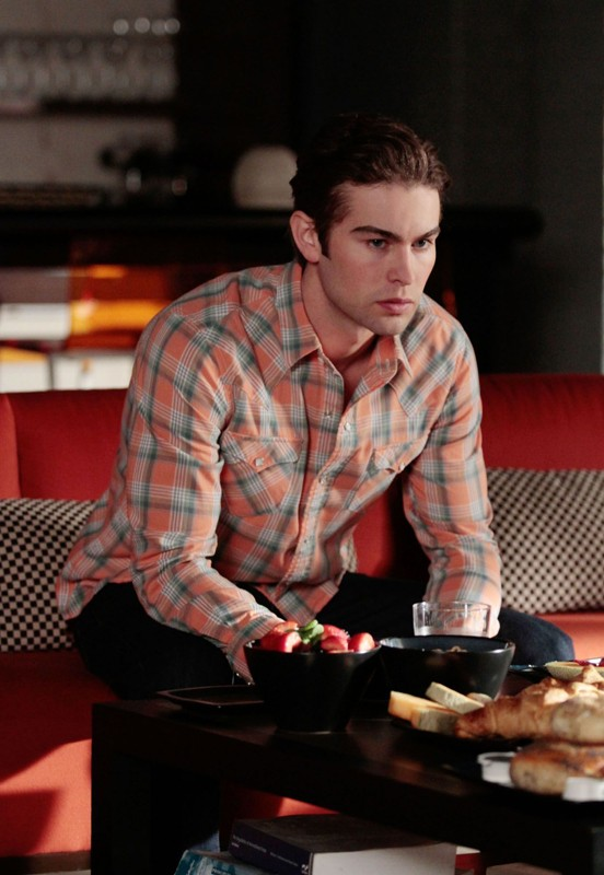 Nate (Chace Crawford) in una scena dell'episodio Last Tango, Then Paris di Gossip Girl
