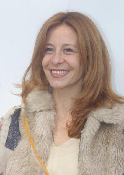 Una foto promozionale di Carlotta Natoli
