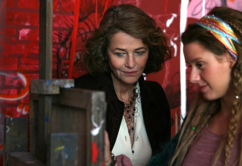 Charlotte Rampling e Manuela Vellés in una scena del film Chaotica Ana