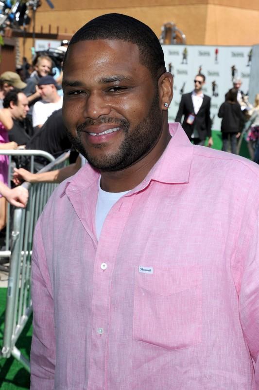 Anthony Anderson partecipa alla premiere del film Shrek e vissero felici e contenti a Los Angeles