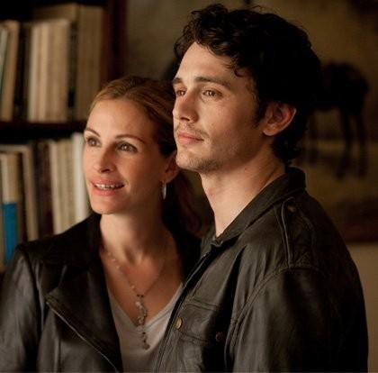 Julia Roberts e James Franco in un'immagine del film Mangia, prega, ama