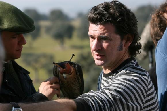 Julio Medem sul set del suo film Chaotica Ana