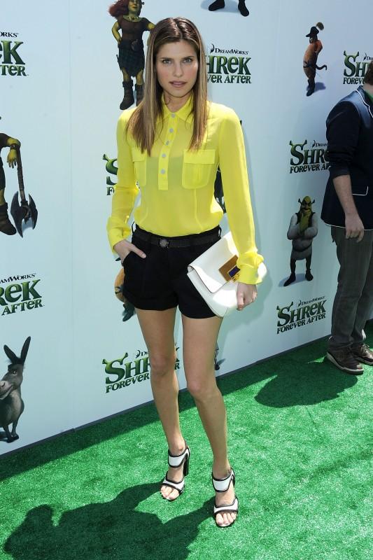 Lake Bell alla premiere di Los Angeles del film Shrek e vissero felici e contenti