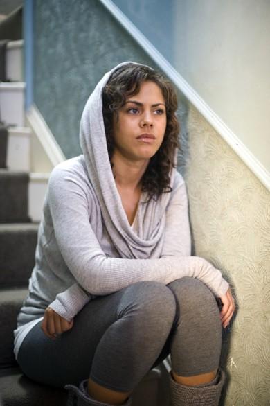 Lenora Crichlow in una scena della seconda stagione di Being Human