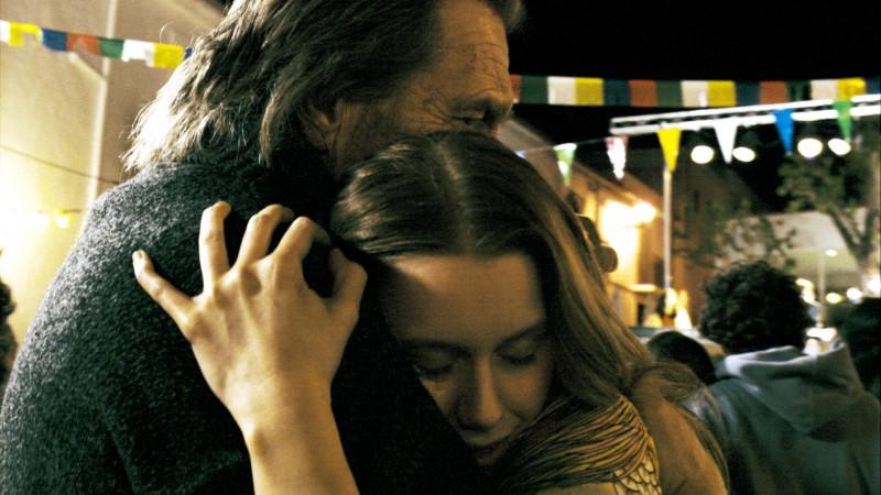 Matthias Habich e Manuela Vellés insieme nel film Chaotica Ana