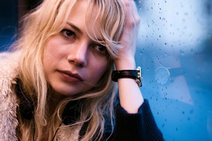 Michelle Williams in un'immagine di Blue Valentine