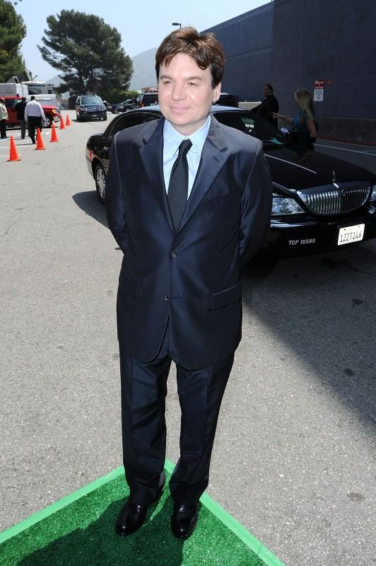 Mike Myers alla premiere di Los Angeles del film Shrek e vissero felici e contenti