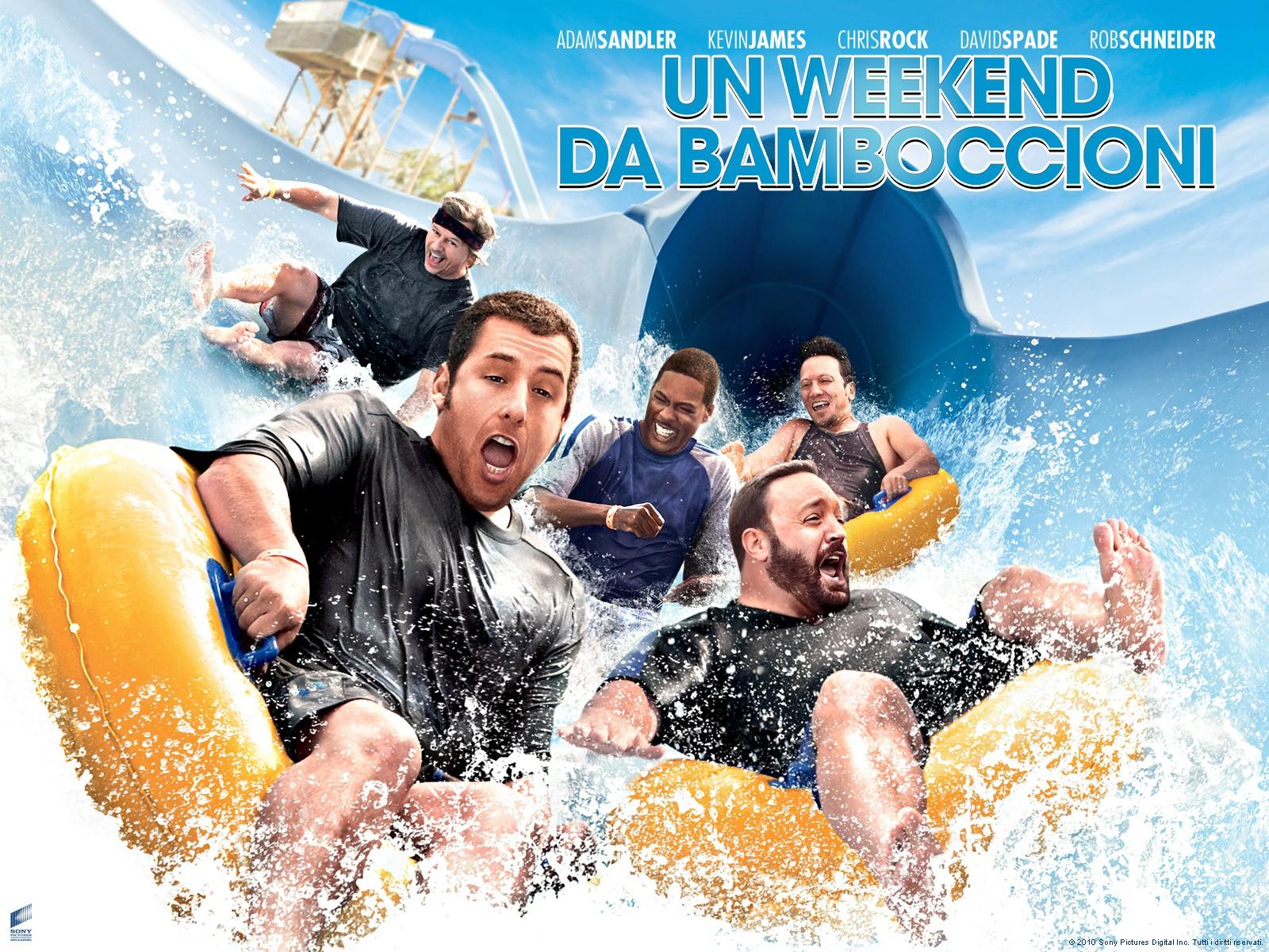 Wallpaper del film Un weekend da bamboccioni