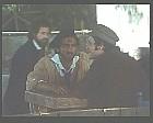 Antonio Orfanò con Ronald Pickup in una scena del film Verdi regia di Renato Castellani