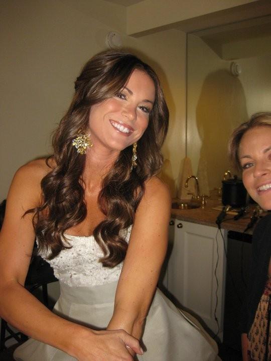 Danneel Harris in abito da sposa