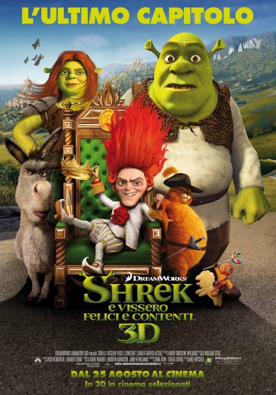 Il poster di Shrek Forever After