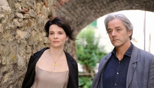 Juliette Binoche e William Shimell sono i protagonisti del film Copia conforme