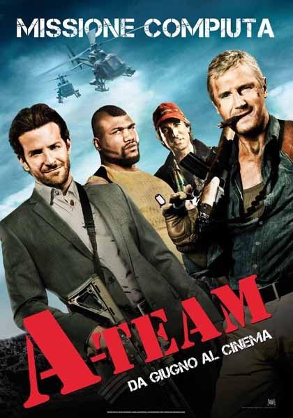 Locandina italiana di A-Team