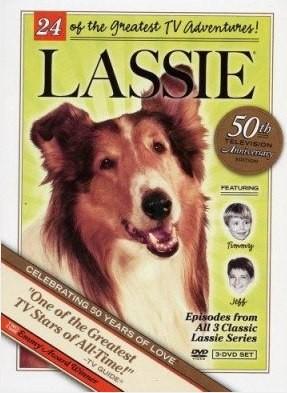 Poster USA realizzato in occasione del 50esimo anniversario della messa in onda di Lassie
